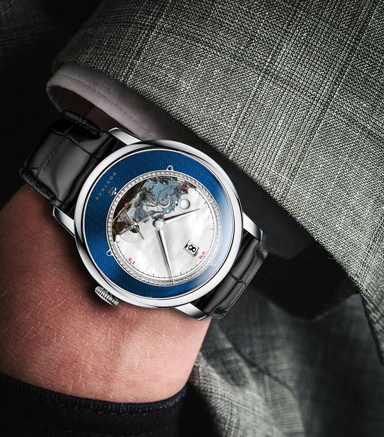 Đồng hồ nam chính hãng Poniger P7.23-1