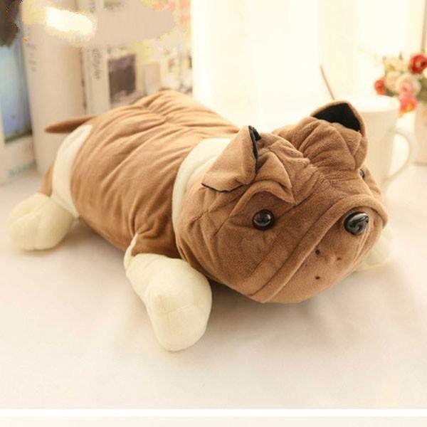 Túi Sưởi Ấm Lưng Họa Tiết Chó  Đa Năng (1 Sản Phẩm)- Dùng Điện  - Màu Nâu - Mẫu TSC0181