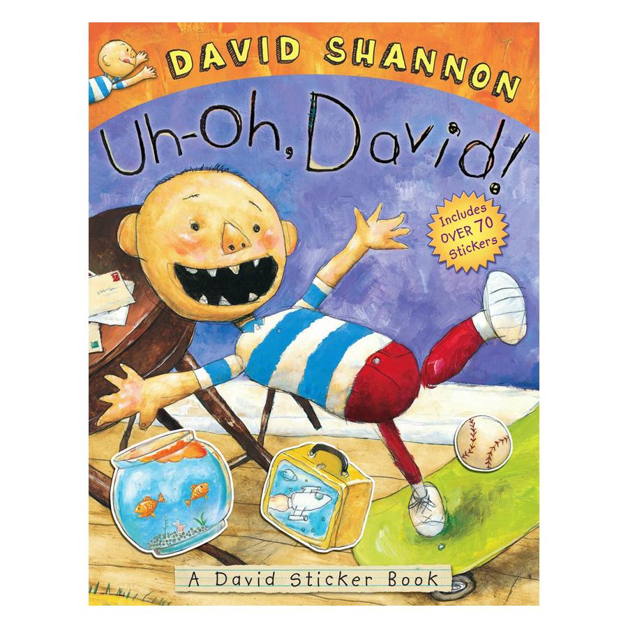 Uh-Oh David! Sticker Book