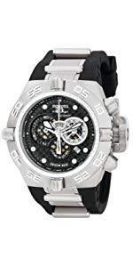 Invicta Women s 15147 Angel Stainless Steel and White Leather Watch 10