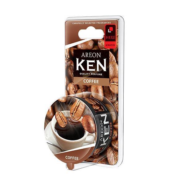 Sáp thơm ô tô hương cà phê AREON Ken Coffee - NHẬP KHẨU BULGARIA