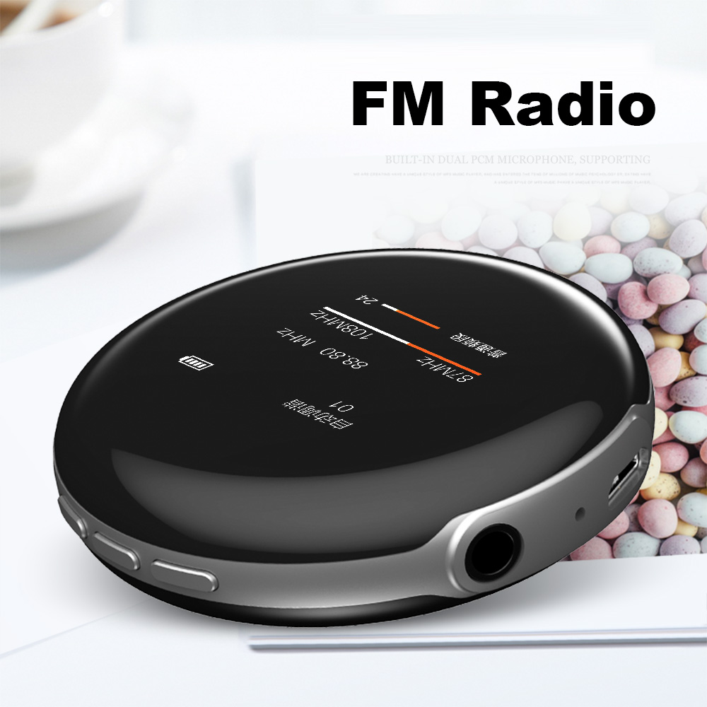 Máy Nghe Nhạc MP3 Bluetooth Ruizu M1 Bộ Nhớ Trong 8GB Cao Cấp AZONE - Hàng Chính Hãng