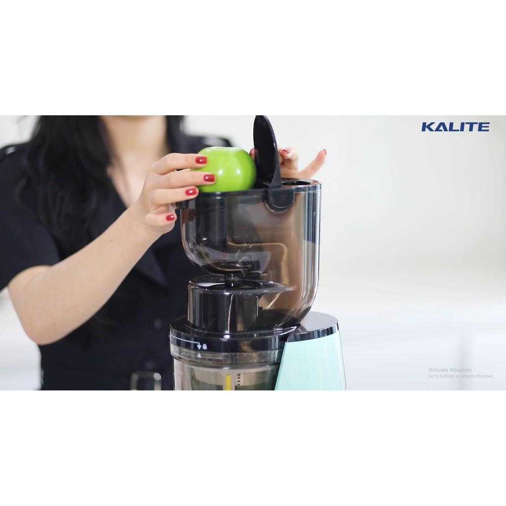 Máy ép chậm Kalite KL 598, ép rau củ quả kiệt và êm - Hàng chính hãng