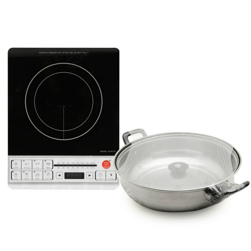 Bếp điện từ - Bếp từ đơn BT15AB (Tặng Nồi Lẩu) - Hàng Chính Hãng