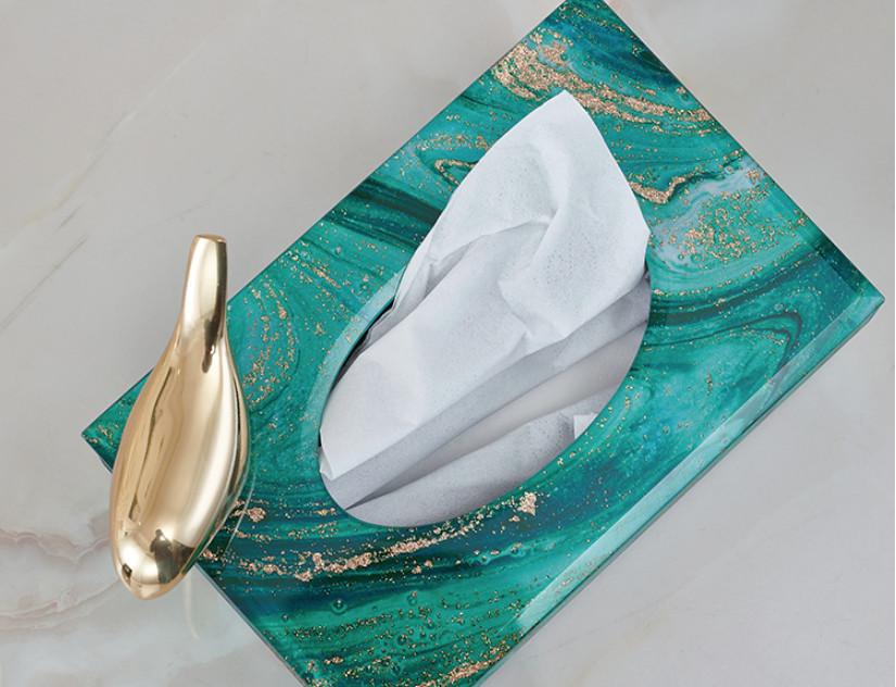 Hộp khăn giấy GOLDEN OCEAN