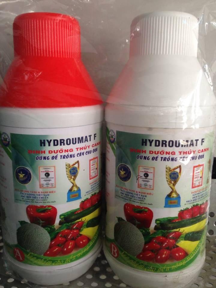 Thùng 7 Cặp Hydroumat V Dung Dịch Thủy Canh Cho Rau Ăn Lá