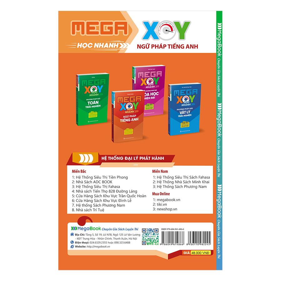 Mega XOY Học Nhanh Ngữ Pháp Tiếng Anh (Sổ Tay Nhỏ Gọn)