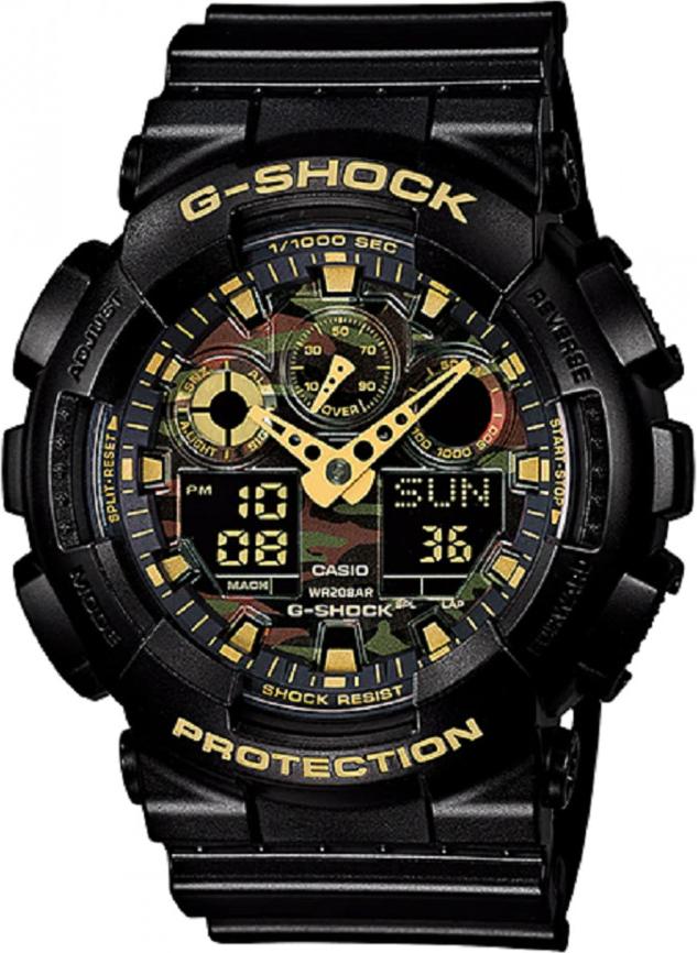 Đồng hồ nam Casio G-Shock GA-100CF-1A9DR (51mm)