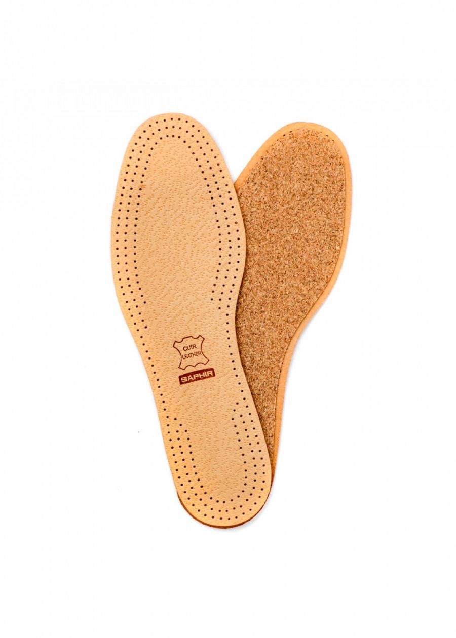 Lót giày da đệm vỏ gỗ sồi (cork) SAPHIR