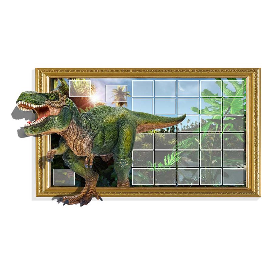 Tranh Dán Tường Động Vật 3D 3DW096 (150 x 100 cm)