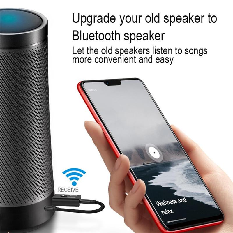 Thiết Bị Thu Phát Nhạc Không Dây USB Bluetooth 5.0 TR6