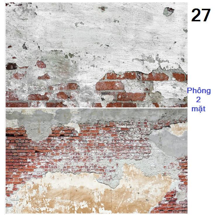 Tấm phông nền chụp ảnh 2 mặt 60x90cm mã 27
