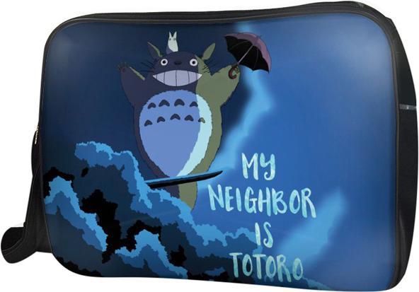 Túi Đeo Chéo Hộp Unisex My Neighbor Is Totoro - TCMA213 34 x 9 x 25 cm