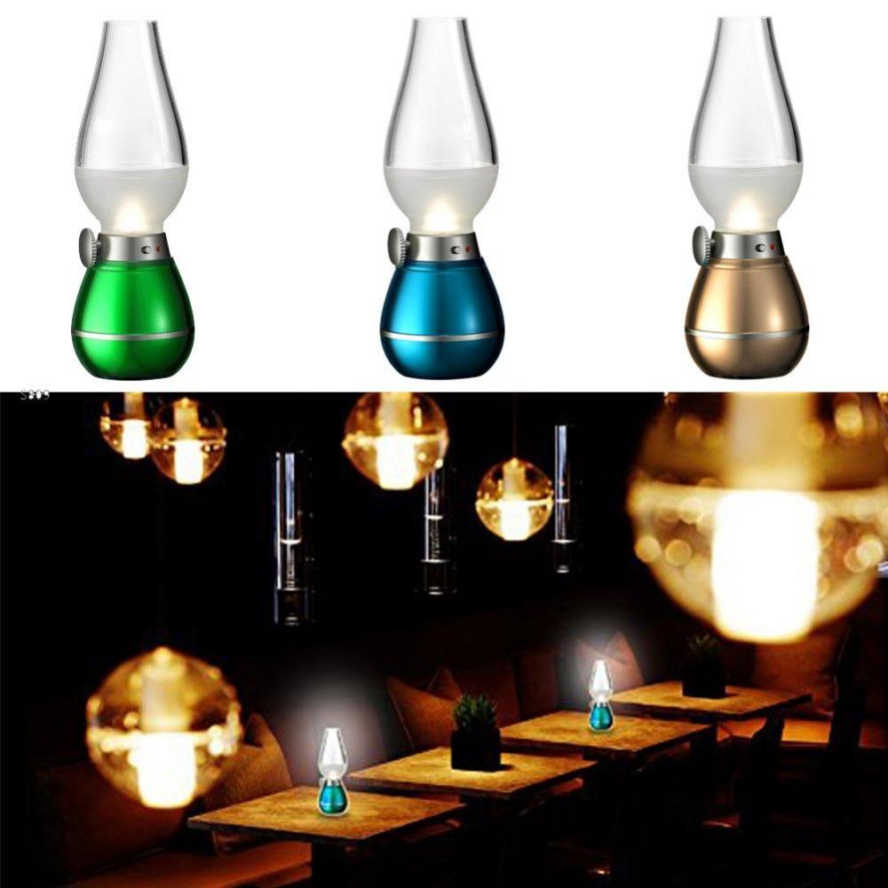 Đèn dầu điện tử cảm ứng thổi