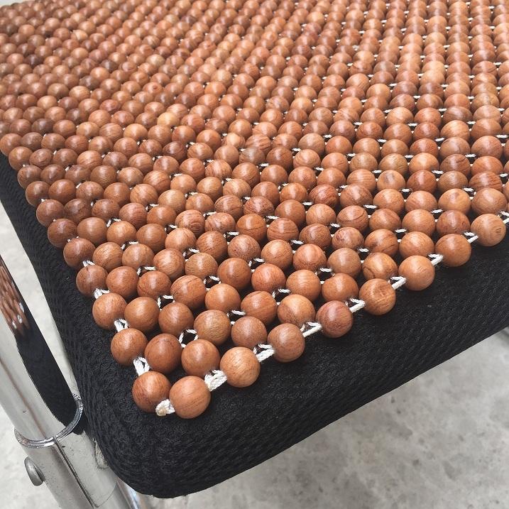 Đệm lót ghế gỗ hương mộc (hình thật) - Nệm lót ghế văn phòng - Phụ kiện chăm sóc nhân viên văn phòng