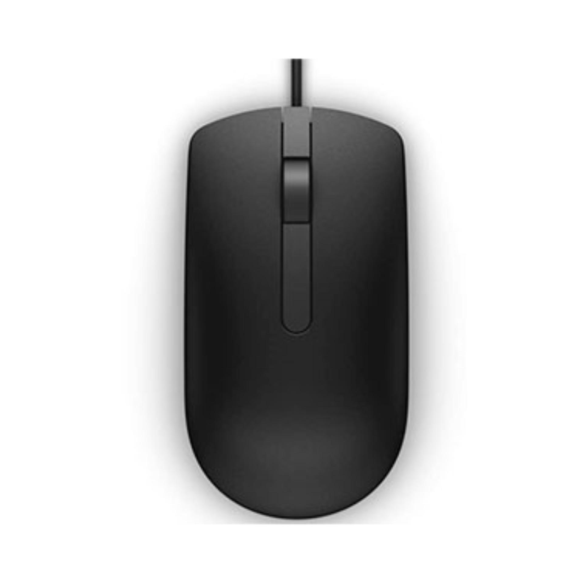 Dell Optical Mouse  MS16 Black - Hàng Chính Hãng