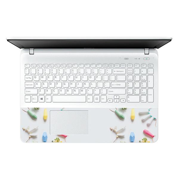 Mẫu Dán Decal Hoa Văn Trang Trí Laptop LTHV-216