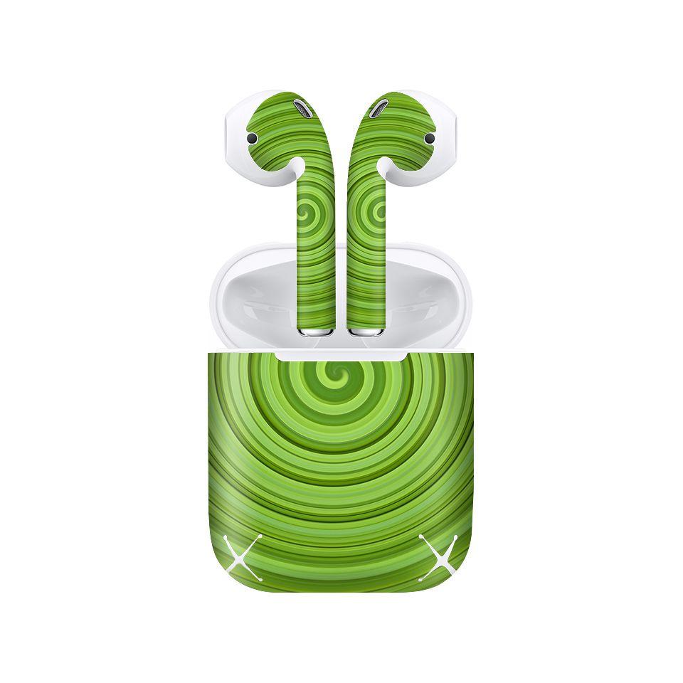 Miếng dán skin chống bẩn cho tai nghe AirPods in hình thiết kế - atk256 (bản không dây 1 và 2)