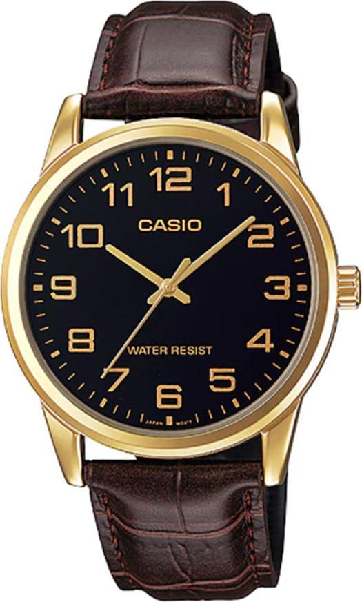 Đồng hồ nam dây da Casio MTP-V001GL-1BUDF