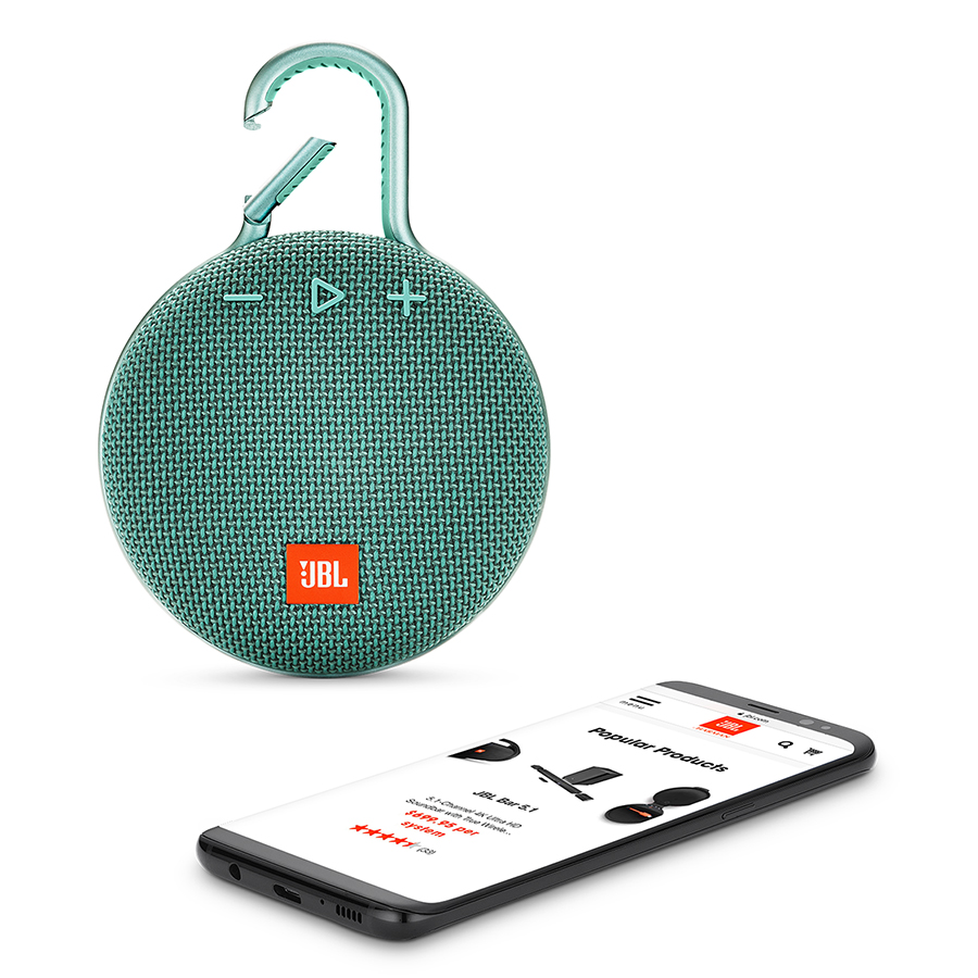 Loa Bluetooth JBL Clip 3 - Hàng Chính Hãng