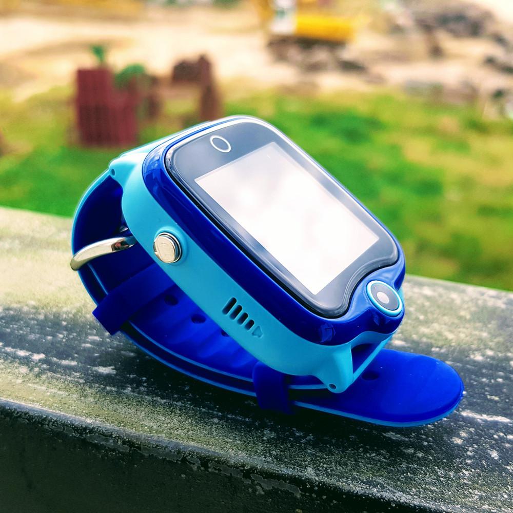 Đồng hồ thông minh màu xanh d06 chống nước ip67 model 2020