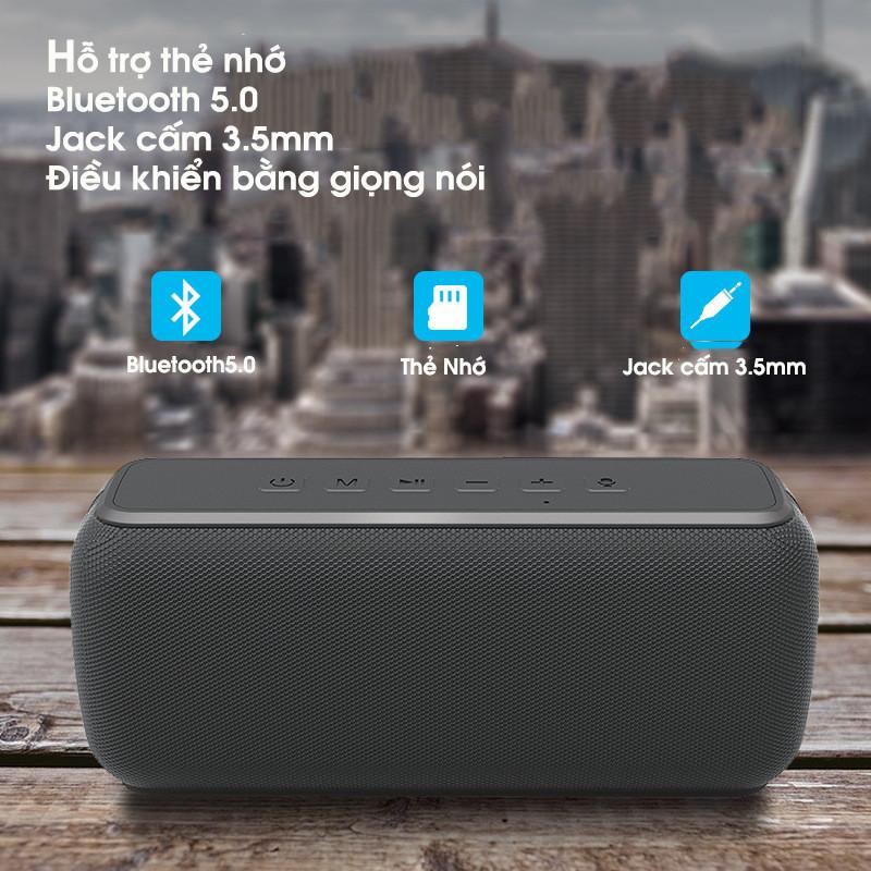 Loa Bluetooth Siêu Bass Điều Khiển Bằng Giọng Nói 60W PKCB103 - Hàng Chính Hãng
