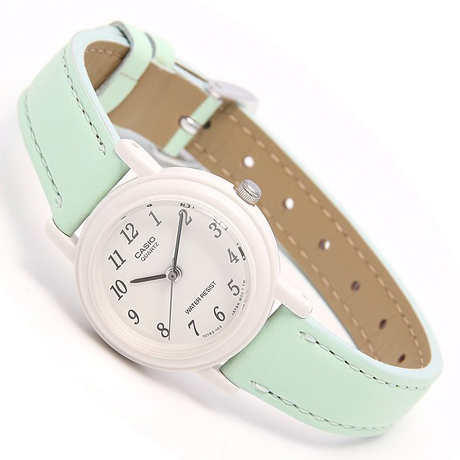 Đồng hồ nữ dây da Casio LQ-139L-3BDF