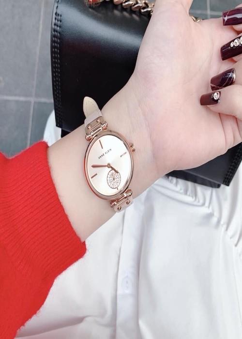 Đồng hồ đeo tay nữ hiệu Anne Klein AK/3380RGLP