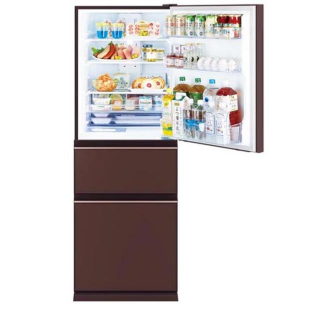 Tủ Lạnh Mitsubishi MR-CGX46EN-GBR-V inverter 365 Lít - Hàng Chính Hãng