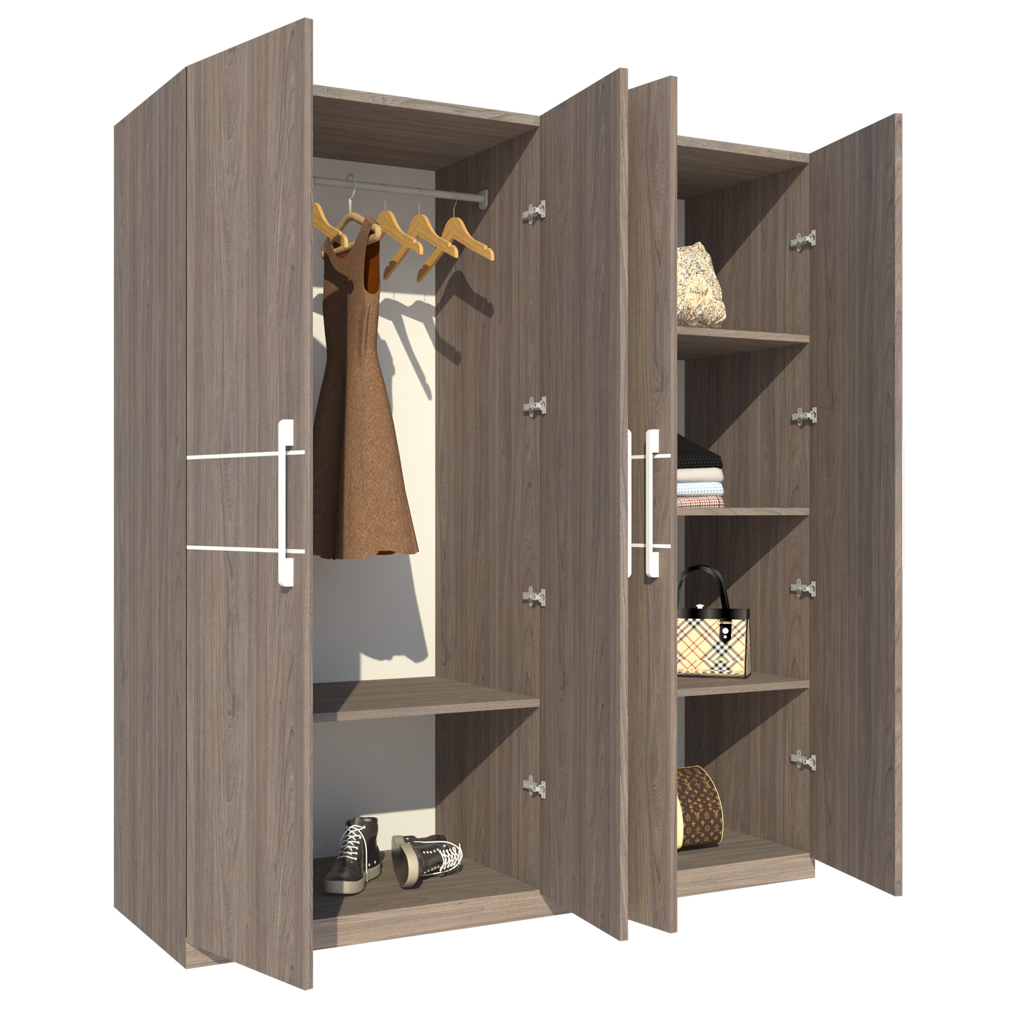 Tủ Áo FT011 (180cm x 200cm)