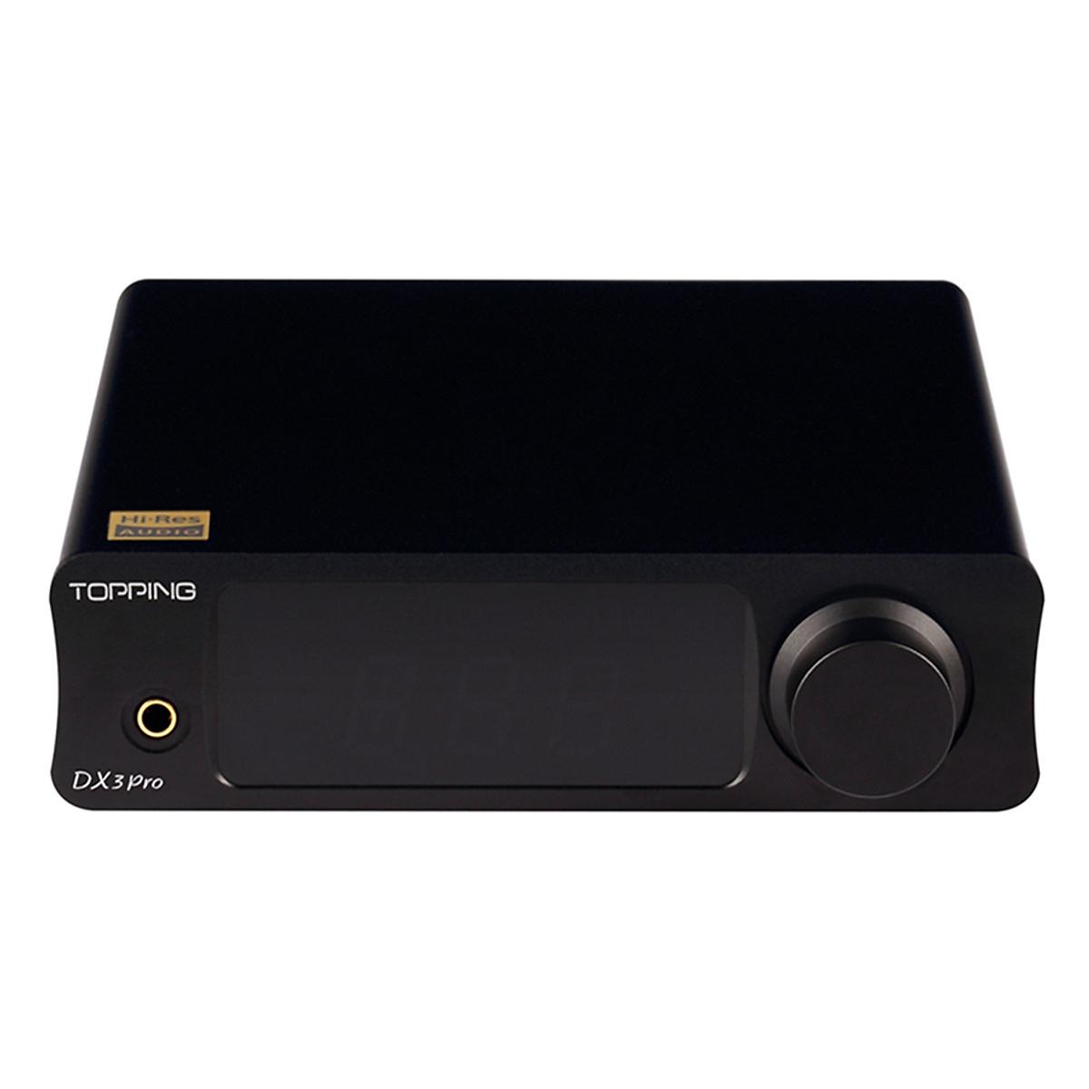 Thiết bị DAC/AMP Cao Cấp Topping DX3 Pro DAC/Amp Bluetooth - Hàng Chính Hãng