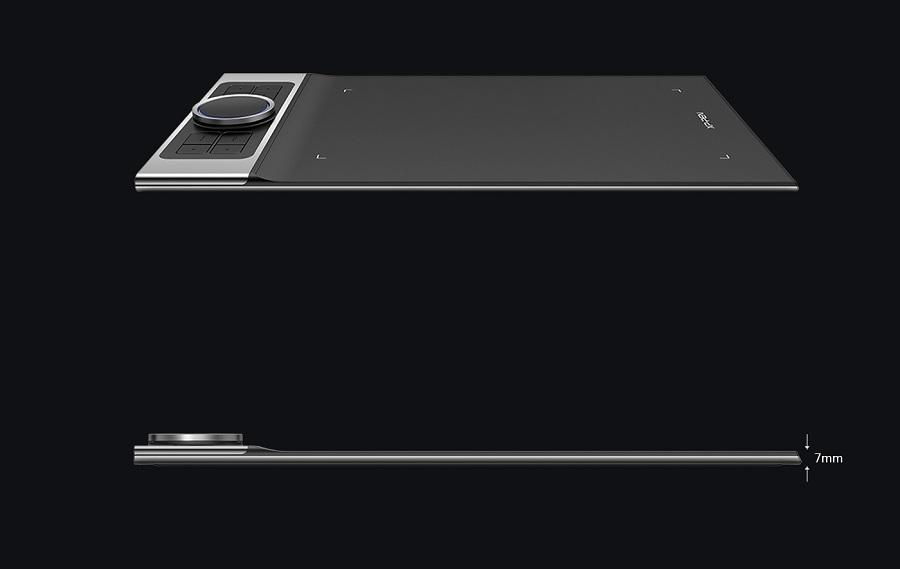 Bảng Vẽ Điện Tử XP-Pen Deco Pro Small 9x5inch 8192 Lực Nhấn, 2 Dial, Tương Thích Thiết Bị Di Động Android