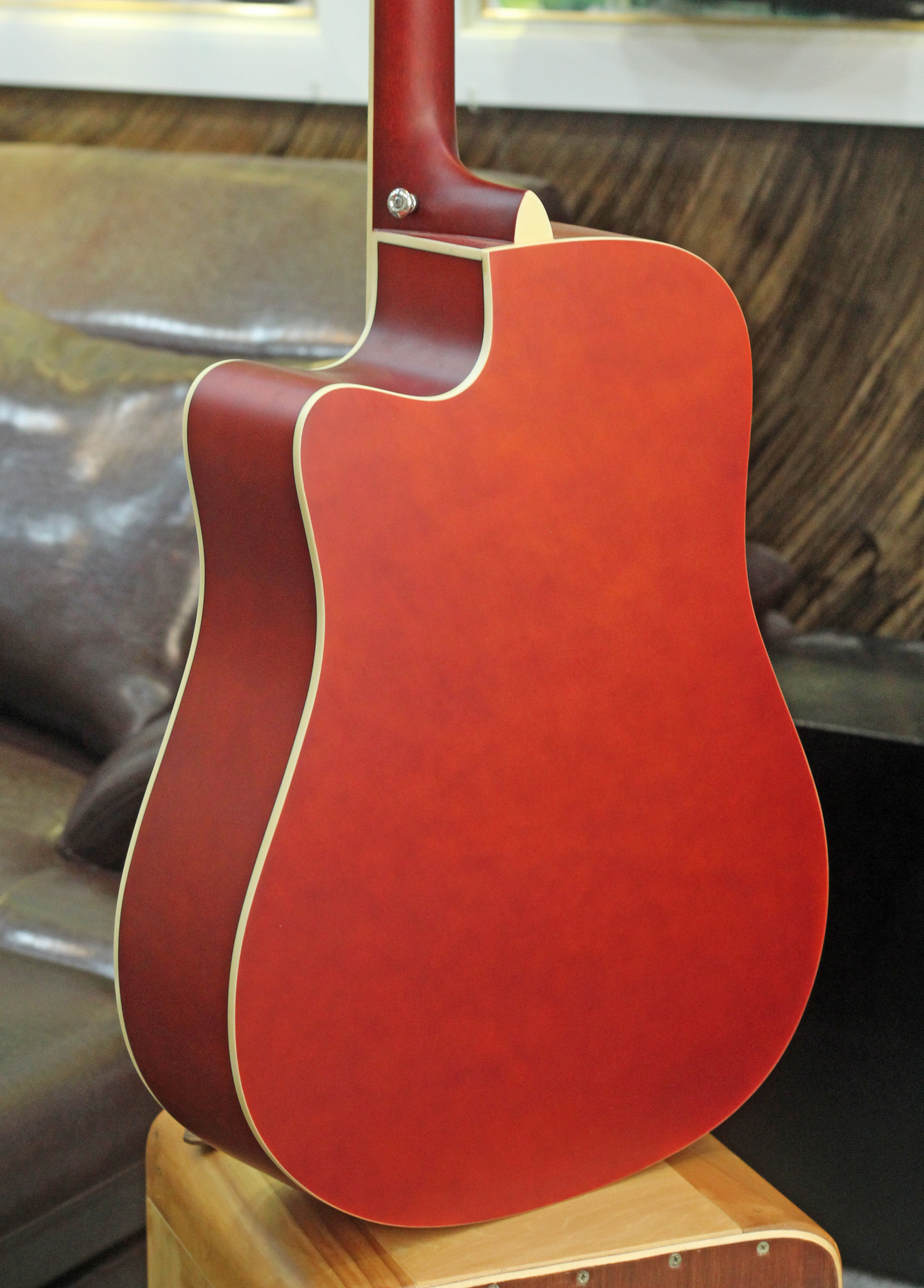 Đàn Guitar Acoustic Rosen Sunburst G11 (Gỗ Thịt- Solid top )