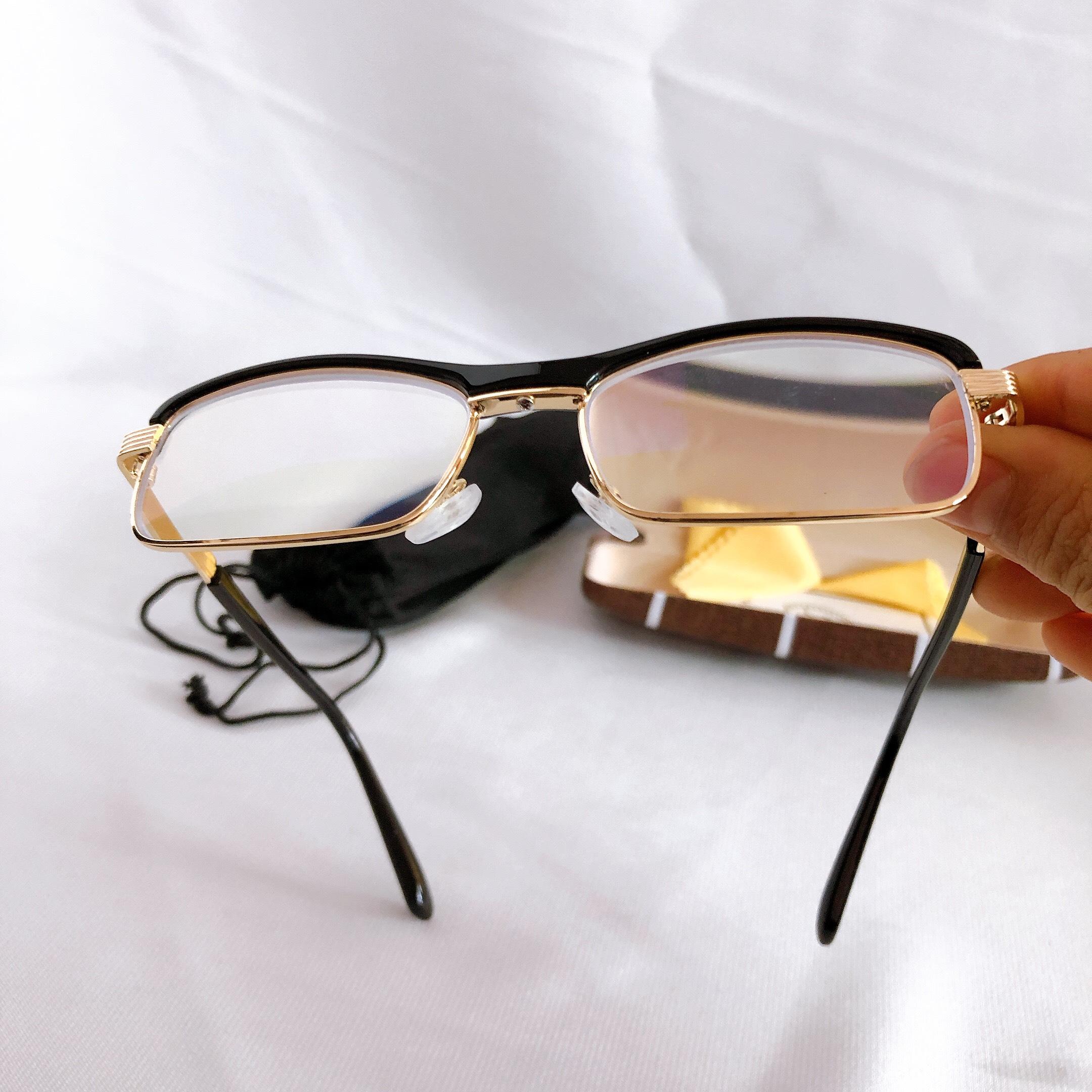 Kính lão thị toàn viền cao cấp cực ôm kính viễn thị sẵn độ kv41 hàng loại tốt mắt chống tia uv sáng và rõ