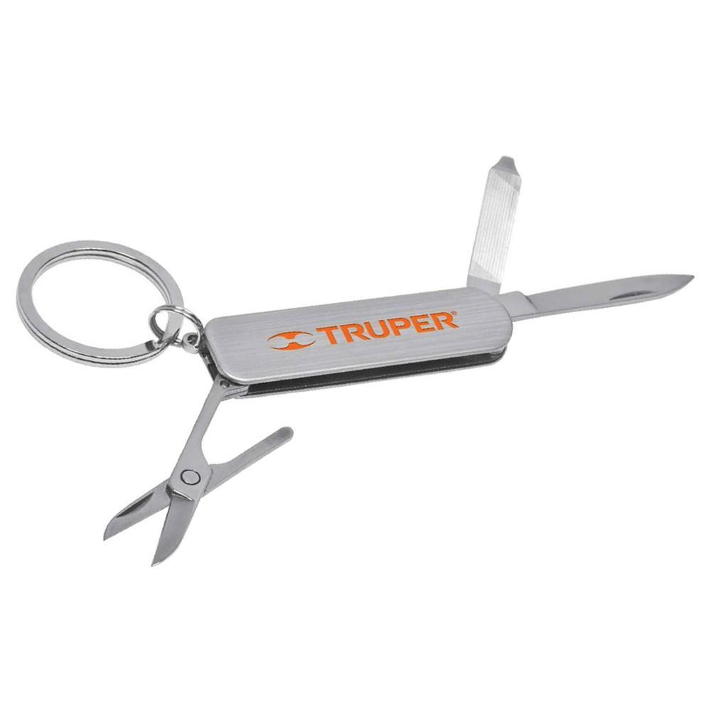 Bộ dụng cụ sửa chữa đa năng,Móc khoá đa năng,dụng cụ sửa chữa,Dụng cụ đa năng 4 chi tiết Truper NM-REG