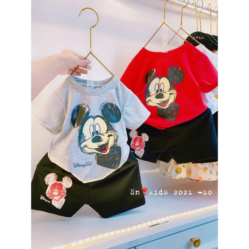 Bộ mickey cotton Quảng Châu hàng đẹp