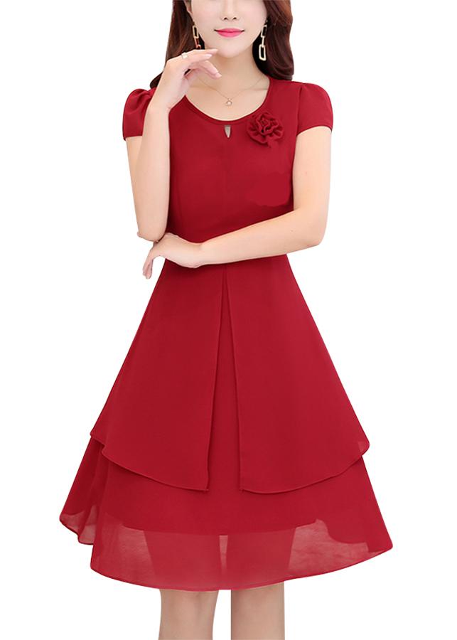 Đầm Nữ KHANH LINH STYLE MS 0428D - Đỏ