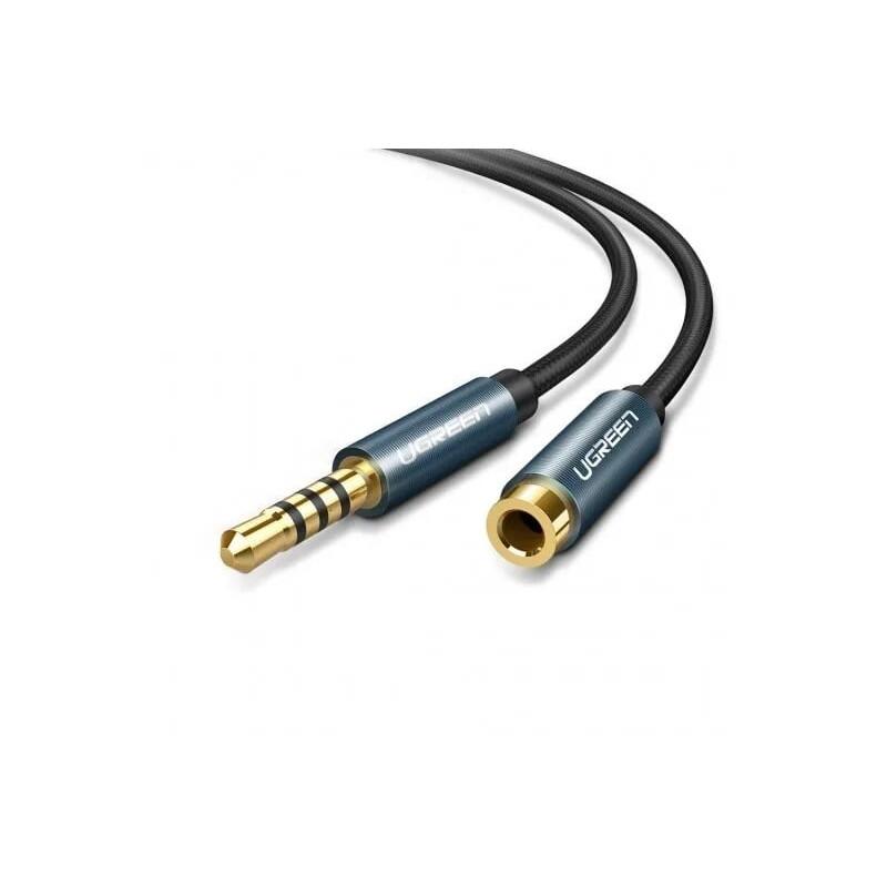 Cáp âm thanh 3.5Mm đực ra cái nối dài 1.5m UGREEN Av118-40674 - hàng chính hãng