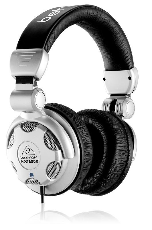 Tai nghe Behringer HPX2000 DJ Headphone- Hàng Chính Hãng