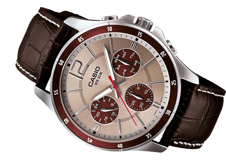 Đồng hồ nam dây da Casio MTP-1374L-7A1VDF