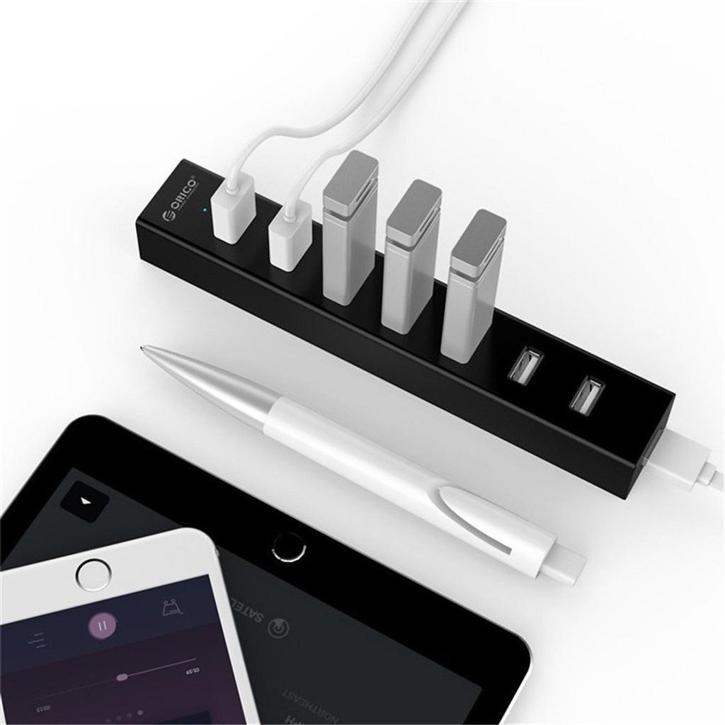 Bộ Chia USB 7 cổng USB 3.0 (HUB USB) Orico H7013-U3- Bảo hành 12 tháng