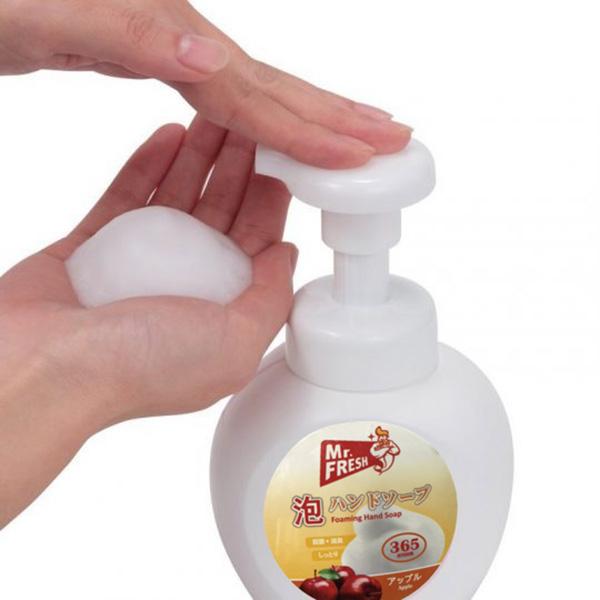 Sữa rửa tay bọt tuyết 365ml Mr.fresh Hương Táo