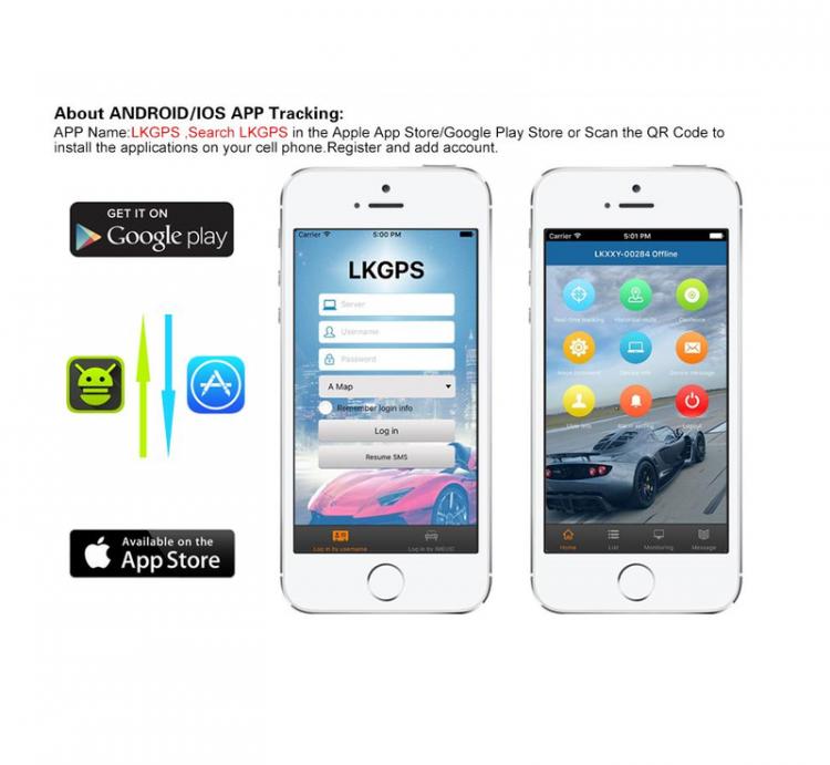 Thiết Bị Định Vị GPS Tracker LK209C 3G Cho Ôto Xe Máy Chống Nước 67IP AZONE