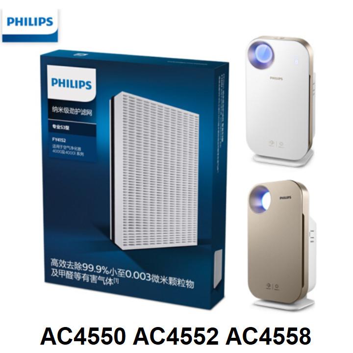 Tấm lọc, màng lọc thay thế Philips FY4152/00 dùng cho các mã AC4550, AC4552, AC4558 - Hàng Nhập Khẩu
