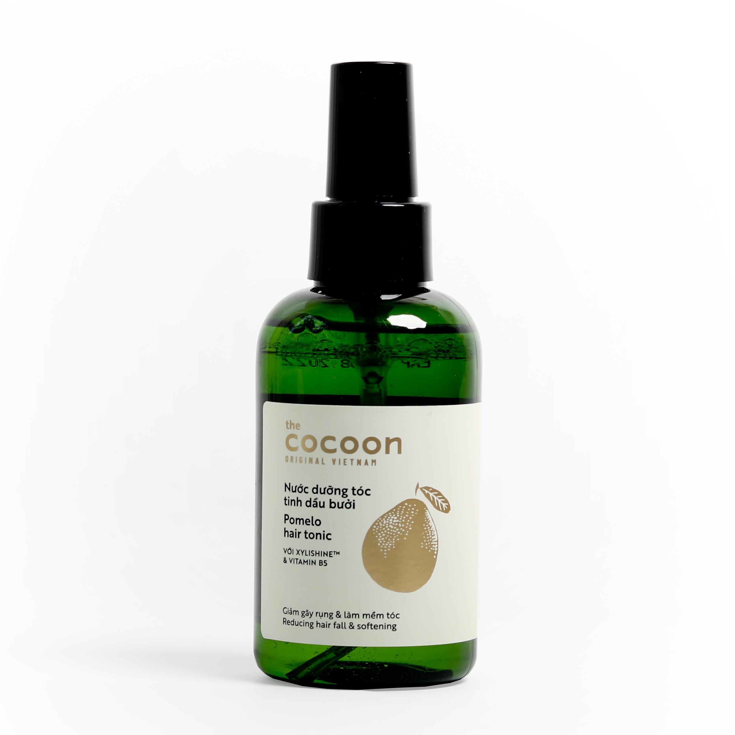 Combo 2 chai nước dưỡng tóc tinh dầu bưởi (Pomelo hair tonic) Cocoon (140ml x 2)