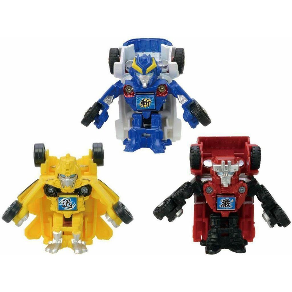 Bộ mô hình gồm 3 Robot mini Go! G24 Samurai