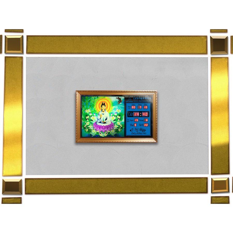 Đồng hồ lịch vạn niên Cát Tường 55640