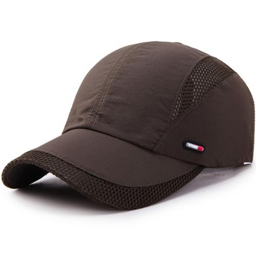 Mũ lưỡi trai - Nón kết nam nữ - vải Polyester phối lưới cực nhanh khô Sport logo lệch - phong cách trẻ trung, năng động