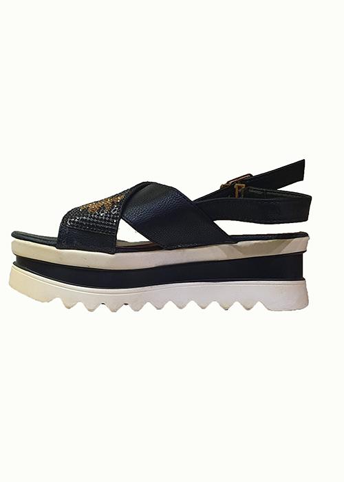 Giầy sandal đế xuồng_PT0106