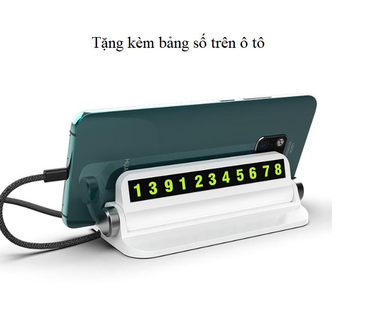 Bộ chia tẩu sạc dành cho ô tô version 3 (Màu đen) - Tặng kèm bảng số điện thoại trên ô tô